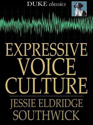 cover image of Expressive Voice Culture
